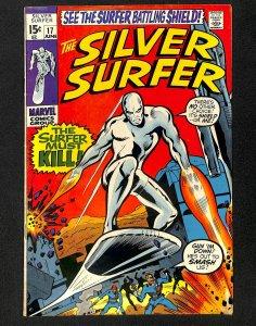 Silver Surfer #17 VG/FN 5.0