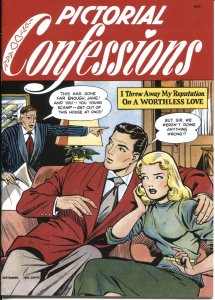 PICTORIAL CONFESSIONS #1-MATT BAKER COVER & STORIES-ST JOHN-REPLICA EDITION