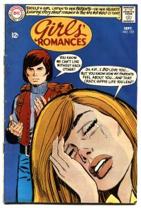 Girls' Romances #135 1968-DC-hippie cover and story-VG