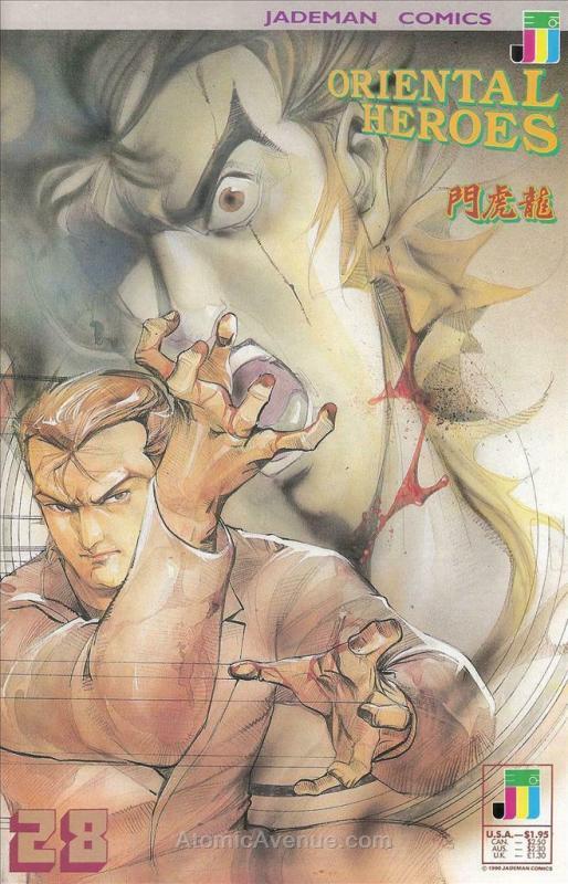 Oriental Heroes #28 FN; Jademan | save on shipping - details inside