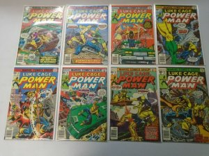 Bronze age Luke Cage lot 16 different from #35-56 avg 6.0 FN (1976-79)