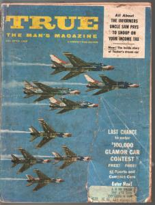 True 4/1960-Fawcett-Air Force cover-Tucker's Dream Car-pulp-FR