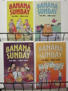BANANA SUNDAY (2005 ONI) 1-4  Nibot & Coover