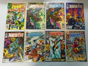 Thunderbolts Comic Lot From:#0-46 Some Variants, 48 Different 8.0/VF (1997-2001)