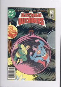 Batman and The Outsiders # 19  VF/NM (1985)  High Grade