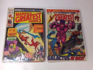 Marvels Greatest Comics 23-28 30-37 45 51 54 61 64-72 6.0-8.0 Range Lot Set Run