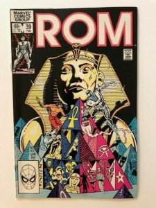 MARVEL ROM Spaceknight #39 DEATHRISE! FINE/VERY FINE (A74)