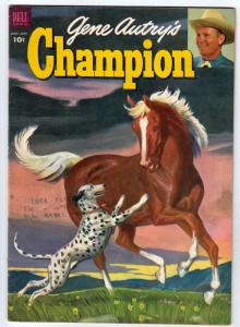 Gene Autry's Champion #10 (May-53) FN/VF Mid-Grade Gene Autry, Champion