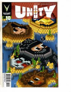 Unity # 10 NM 1st Print Variant Cover Valiant Comic Book Valiantcraft MK1