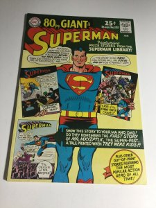 Superman 183 Vf+ Very Fine+ 8.5 DC Comics
