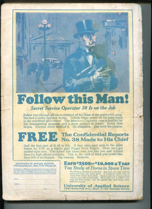 AMAZING STORIES #6-09/1926-GERNSBECK-JULES VERNE-H G WELLS-FRANK R PAUL-good/vg
