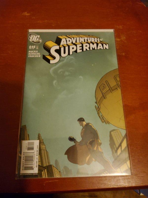 Adventures of Superman #646 (2006)