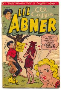 Li'l Abner #97 1955- Sadie Hawkins Day issue- G