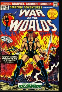 AMAZING ADVENTURES #18-WAR OF THE WORLDS VF