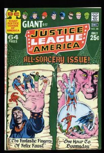 Justice League Of America #85 VF+ 8.5