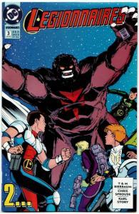 Legionnaires #3 (DC, 1993) VF