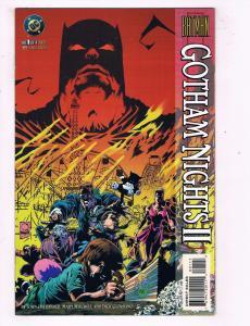 Gotham Nights 2 Complete DC Comics Limited Series # 1 2 3 4 Batman Robin TW16