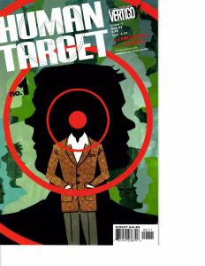 Lot Of 5 Human Target Vertigo Comic Book #1 2 3 4 5  AB3