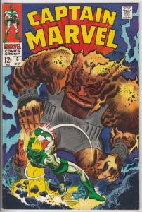 Captain Marvel #6 (Oct-68) NM- High-Grade Captain Marvel