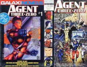 AGENT THREE ZERO SET (1993-94 GALAXI) 1,1BlueSultan