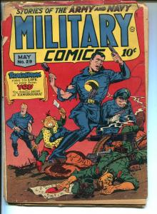 MILITARY #29 1944-BLACKHAWK-QUALITY-SNIPER-DEATH PATROL-JACK COLE-pr/fr