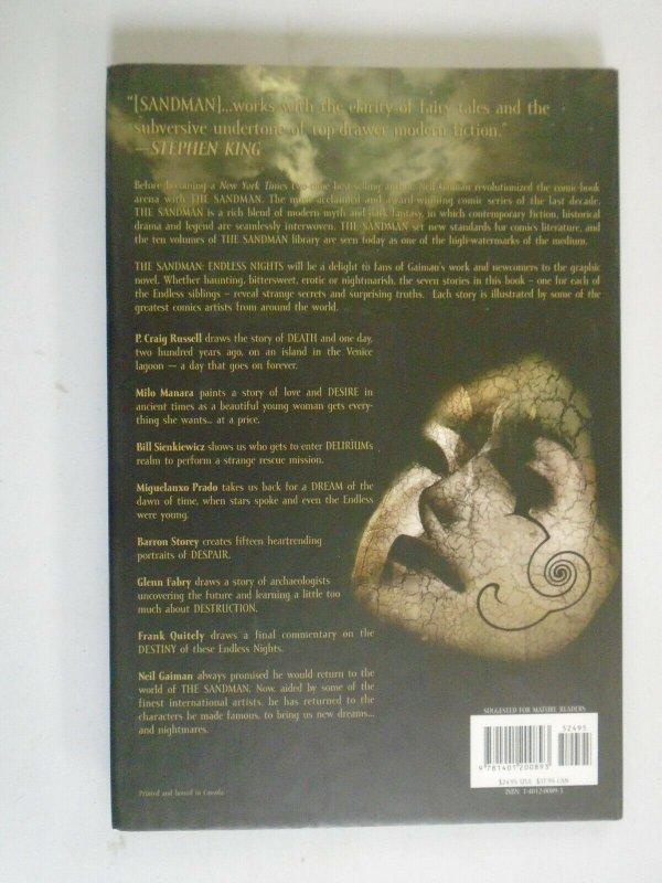 Sandman Endless Nights HC 8.0 VF (2003 Vertigo)