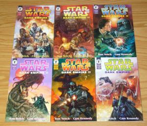 Star Wars: Dark Empire II #1-6 VF/NM complete series - tom veitch - dark horse