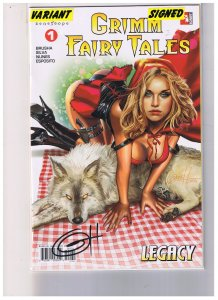 Grimm Fairy Tales #1  Legacy V.2