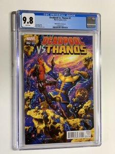 Deadpool Vs. v Versus Thanos 2 cgc 9.8 hildebrandt variant