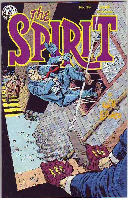 Spirit, the by Will Eisner #38 (Dec-87) NM Super-High-Grade The Spirit