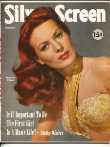 Silver Screen-Maureen O'Hara-Mitzi Gaynor-Jerry Asher-Dec-1951
