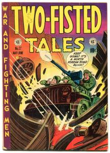 Two-Fisted Tales #27 1952- Kurtzman cover-civil war- EC golden age war VG