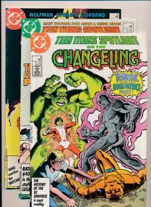 DC Comics Lot of 3 - TEEN TITANS Spotlight #2,3,9 F/VF(PF312)