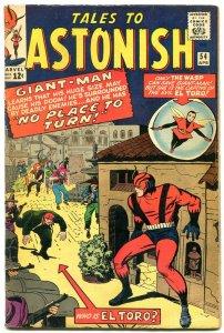 TALES TO ASTONISH #54 Wasp- Giant Man-El Toro - DON HECK VG/F