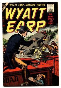 WYATT EARP #11 comic book 1957-JOHN SEVERIN-DICK AYERS-JOE MANEENLY