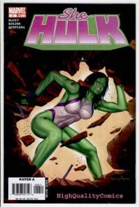SHE-HULK #4, VF, Dan Slott, 2006, Greg Horn, Good Girl, more GH in store
