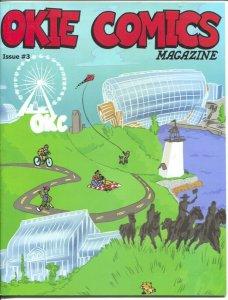 Okie Comics #3 2018-Jeff Provine-Sgt McLintock-The Oklahoma Patriot-VF