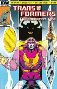 Transformers, The: Regeneration One #89B VF/NM; IDW | save on shipping - details