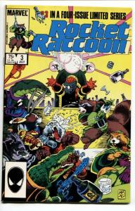 ROCKET RACCOON #3 comic book-Third ISSUE MARVEL KEY-GOTG