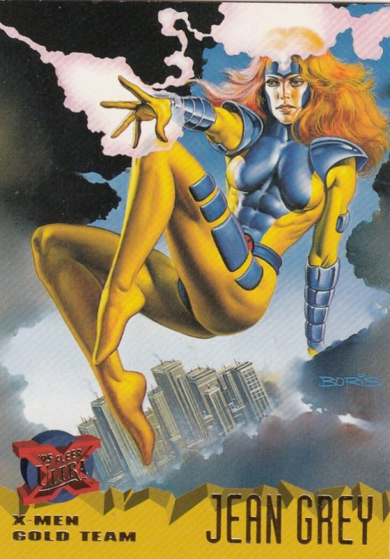 1995 FLEER ULTRA  MARVEL GOLD TEAM JEAN GREY #102  CARD
