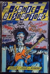Sonic Disruptors #3 (1988)