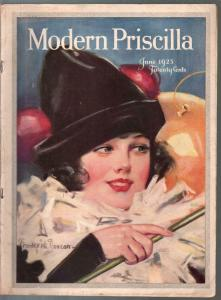 Modern Priscilla 6/1923-Frederick Duncan Perot cover-fashion-vintage ads-VG