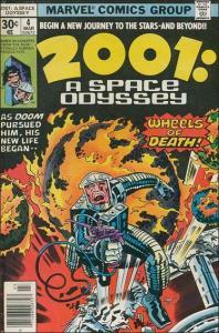 Marvel 2001: A SPACE ODYSSEY #4 VF