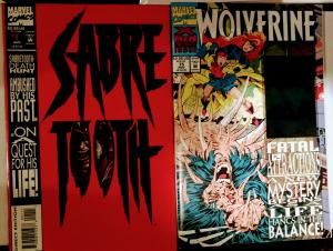 Wolverine #75 and Sabretooth #1, Great coppies!!