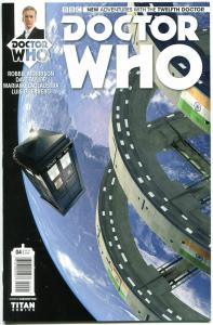 DOCTOR WHO #4 B, VF+, 12th, Tardis, 2014, Titan, 1st, more DW in store, Sci-fi