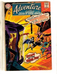 Adventure Comics # 365 VG DC Silver Age Comic Book Superboy Legion Heroes JL10