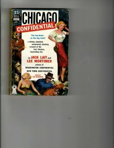 3 Books Chicago Confidential The Promoter Army Tramp Murder Mystery Army JK16