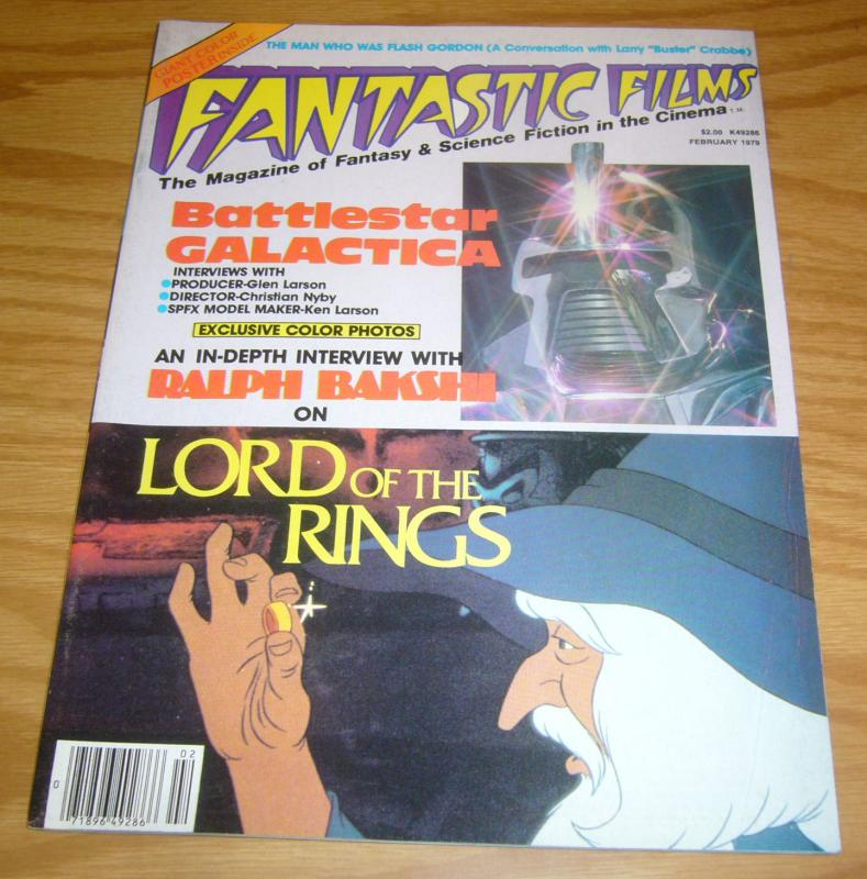 Fantastic Films #6 VF- february 1979 ralph bakshi interview (lord of the rings