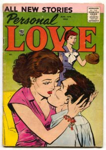 Personal Love #4 1958- Romance comic- VG
