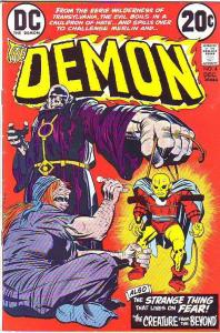Demon, The #4 (Dec-72) NM- High-Grade Jason Blood, Merlin